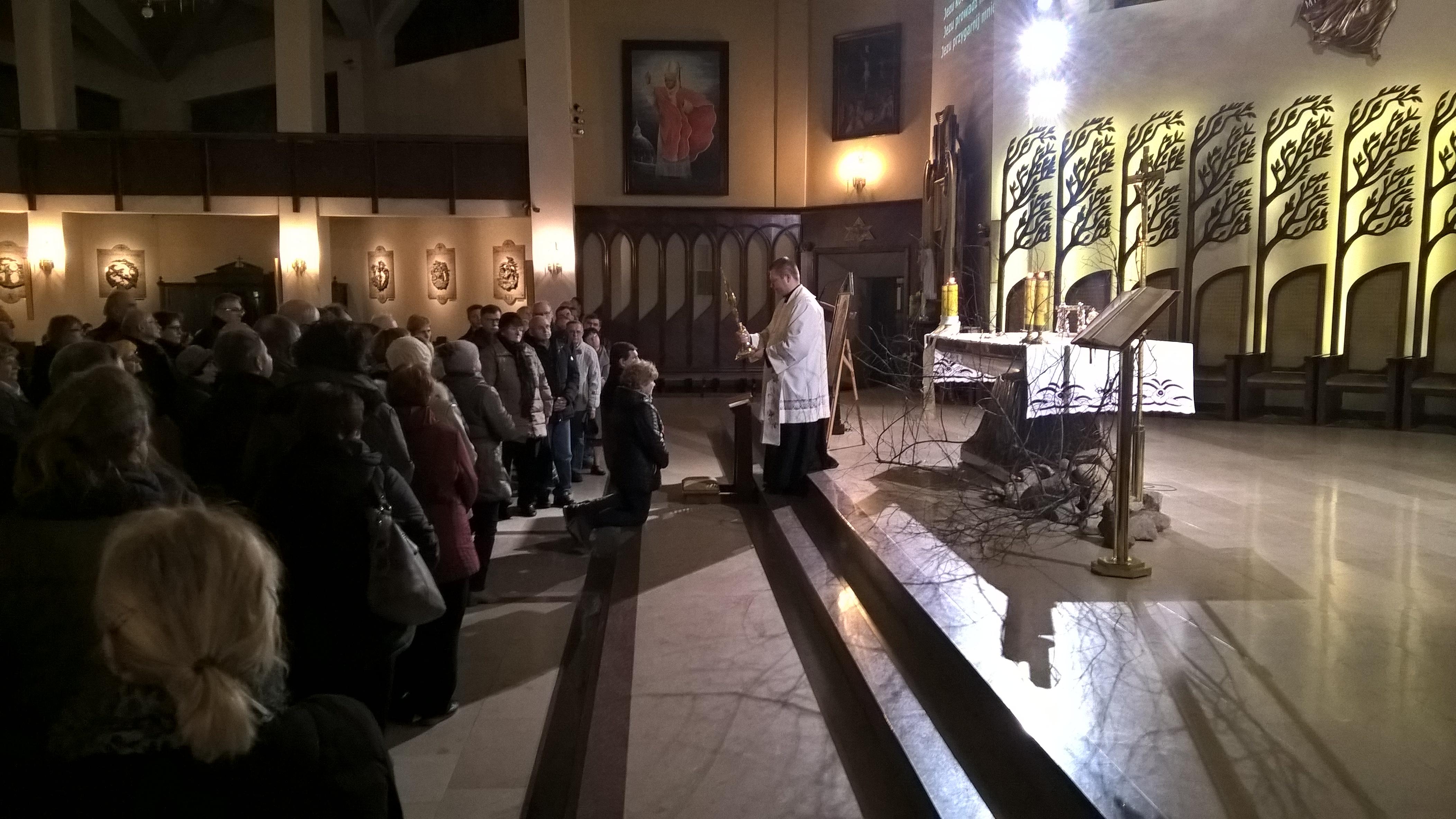 Modlitwa małżeńska na Wrzosach
