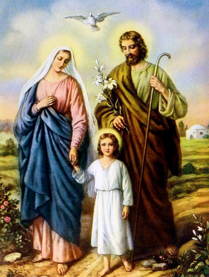 Znalezione obrazy dla zapytania święto świętej rodziny 2019
