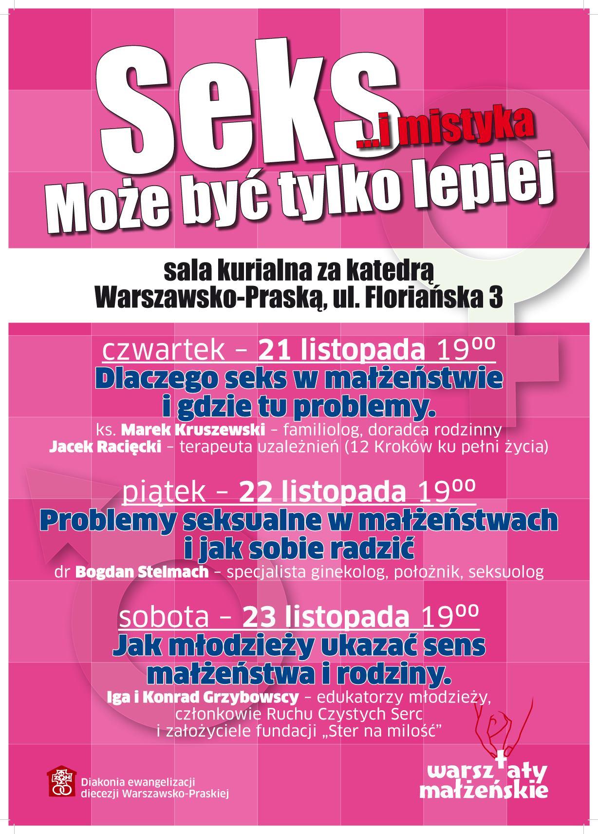 Diecezjalne Warsztaty Małżeńskie- Warszawa