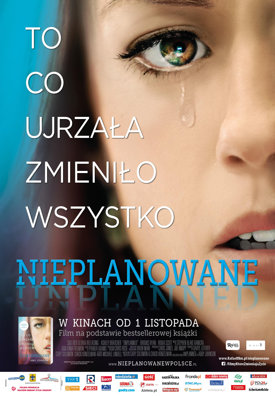 Film Nieplanowane w Cinema City w Plazie w Toruniu