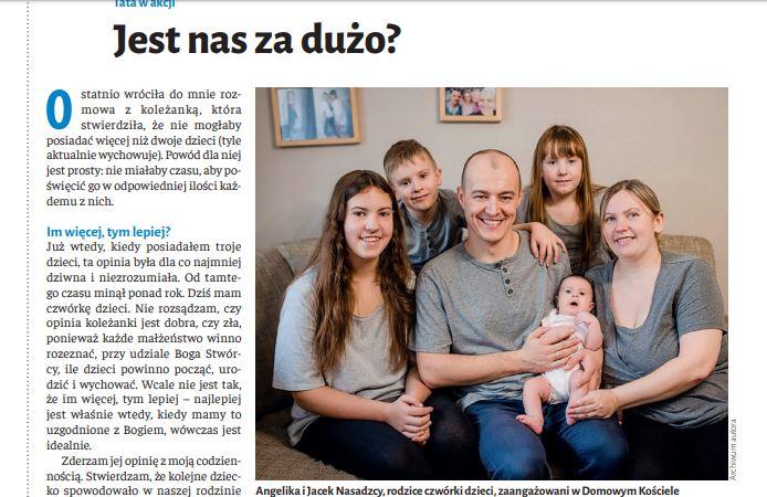 Piszą o naszych w prasie Niedziela nr 5/2020