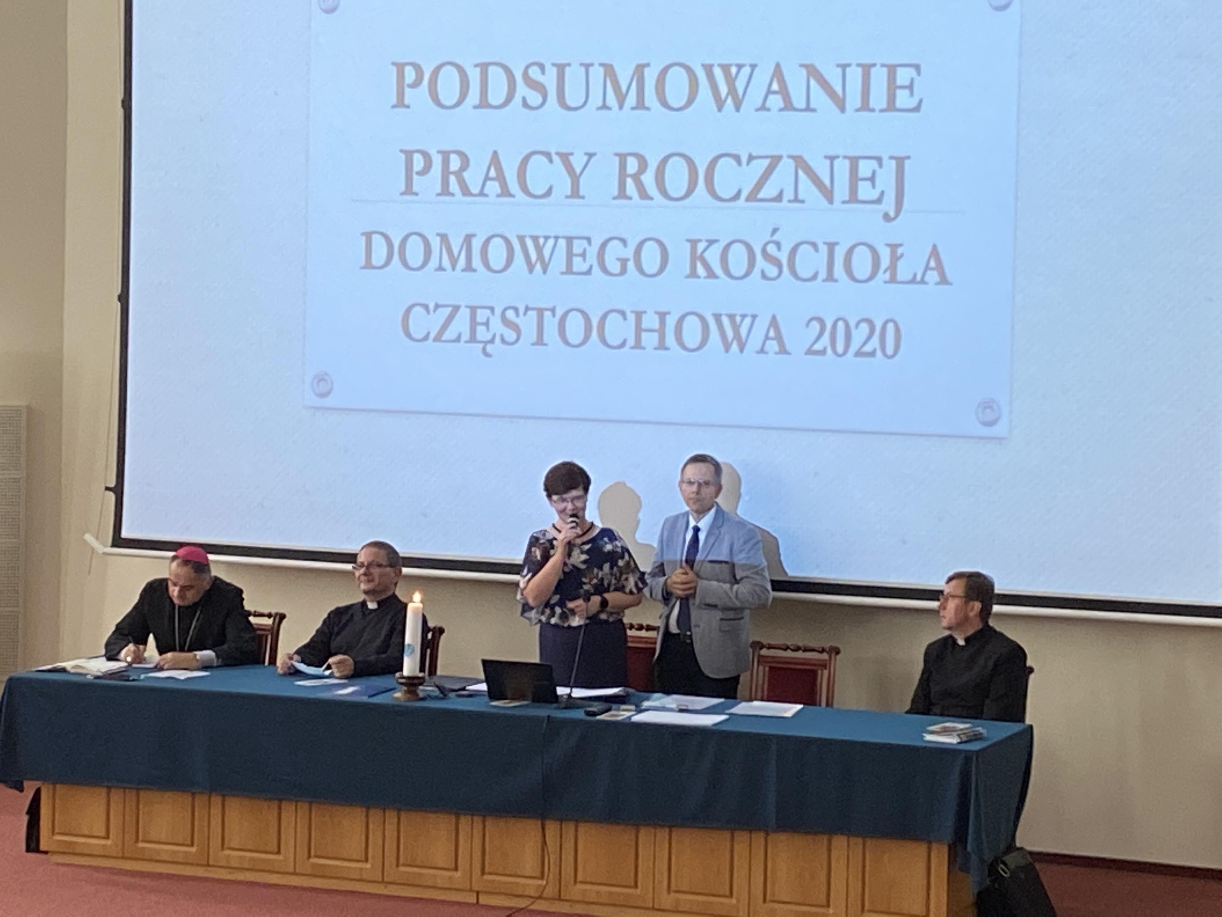 Wieści z Podsumowania roku formacyjnego Domowego Kościoła 2019/2020 w Częstochowie 12.09.2020